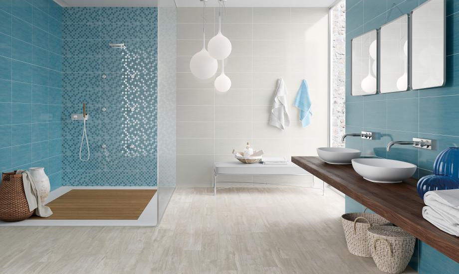 Piastrelle Bagno Turchese : Bagno turchese e grigio piastrelle bagno turchese cool piastrella